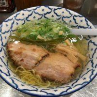 名古屋駅新幹線口から徒歩1分、函館らーめん 醐りょう は、あっさりなのにコクのある絶品清湯スープの塩らーめん