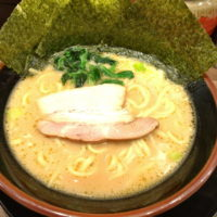 名駅西口から徒歩3分、横浜家系ラーメンぎん家で濃厚コク旨とんこつ醤油ラーメンを食べてみた。