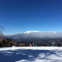 名古屋から約3時間、子供と楽しめるスキー場 木曽福島スキー場へ行ってスキーを楽しんできた。
