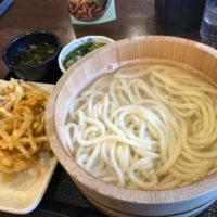 中川区松葉公園隣にある讃岐釜揚げうどん 丸亀製麺 松葉公園店に行ってきた。