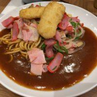 名駅JPタワーのスパゲティハウス ヨコイで名古屋名物 元祖 あんかけスパゲティのミラカンを食べてみた。